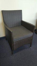 Gilberto-chair -browngrey