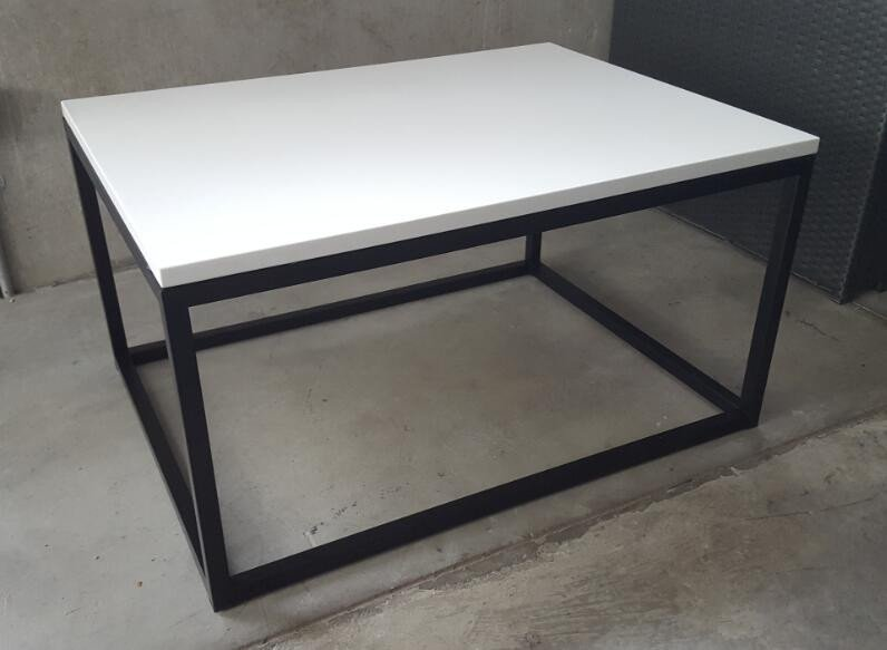 Quartz Coffee Table Big  White