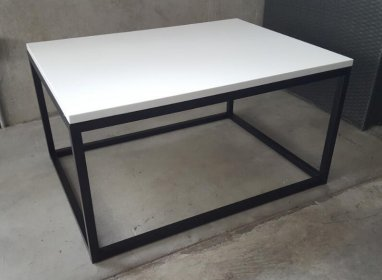 Quartz coffee table big- white