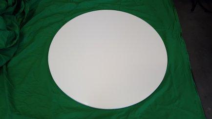 Pure white Round